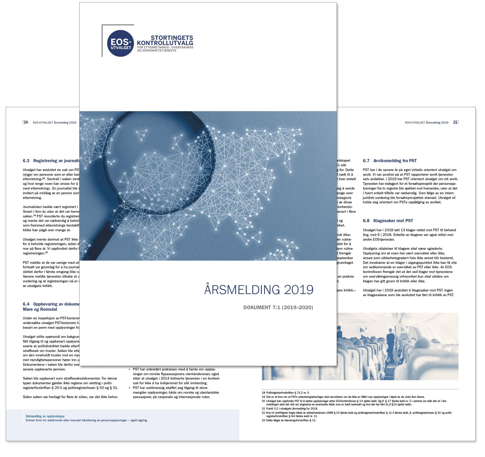EOS utvalgets årsrapport 2019